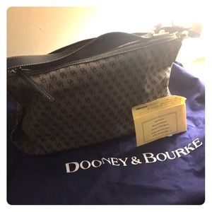 Vintage east/west Dooney and Bourke slouch